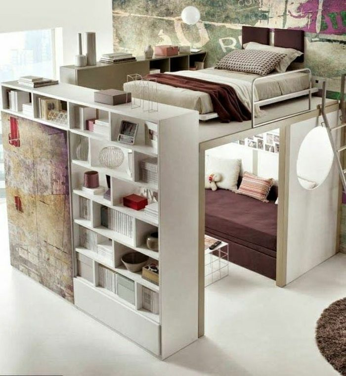Mezzanine Superspos Variante Moderne Denfant Chambre