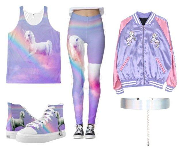 """•rainbow~unicorn•"" by unikitty864 on Polyvore featuring Accessorize"
