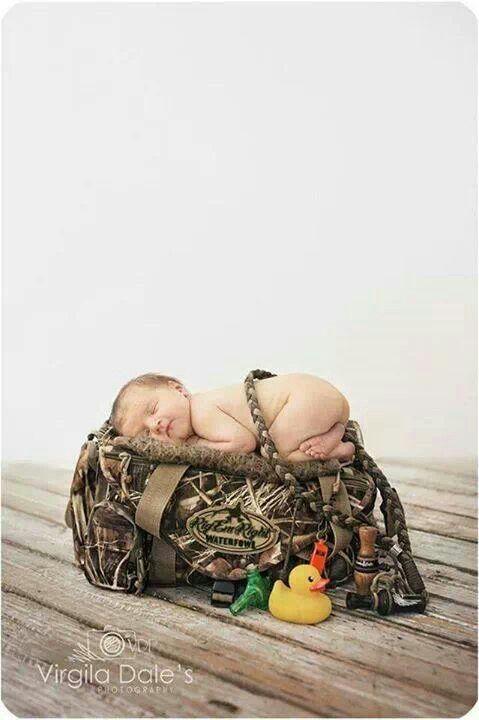 Hunting baby