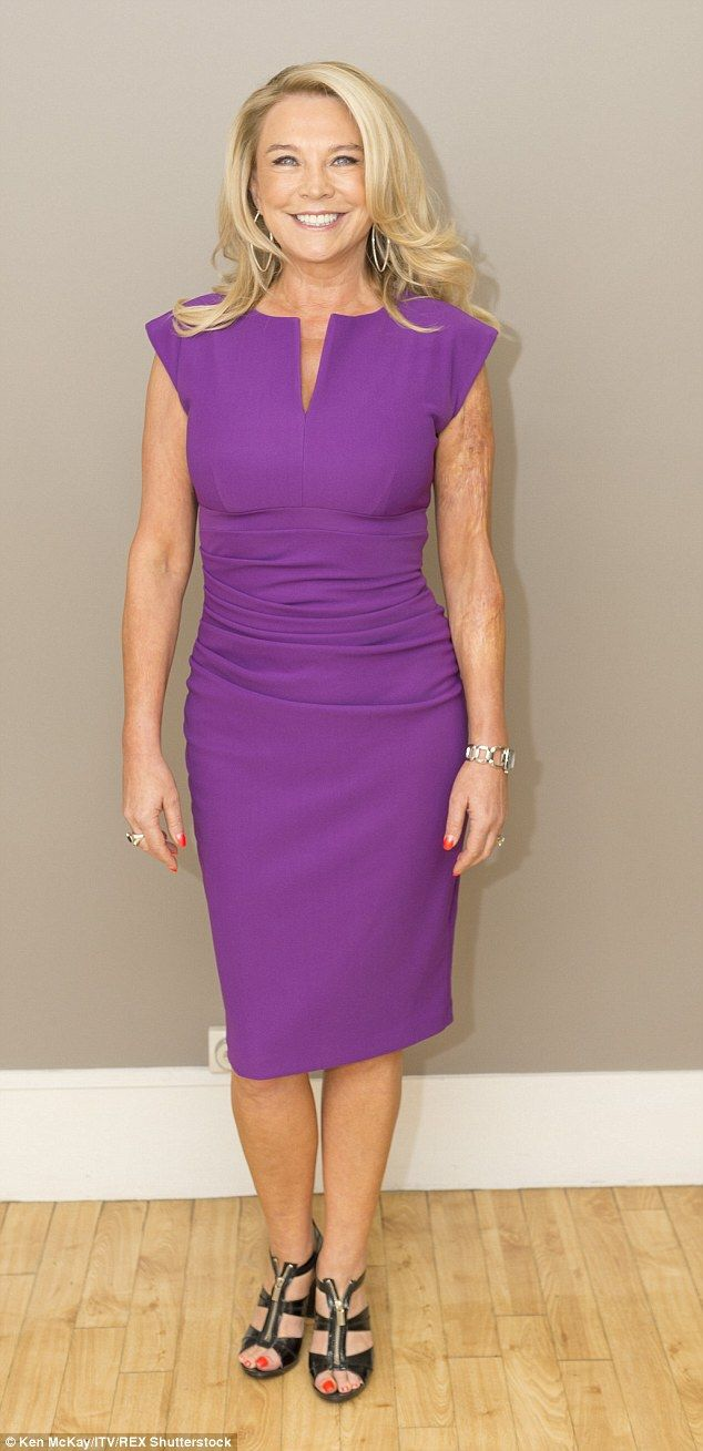 Simply stunning: Amanda Redman revealed the results of her cosmetic procedures and healthy...