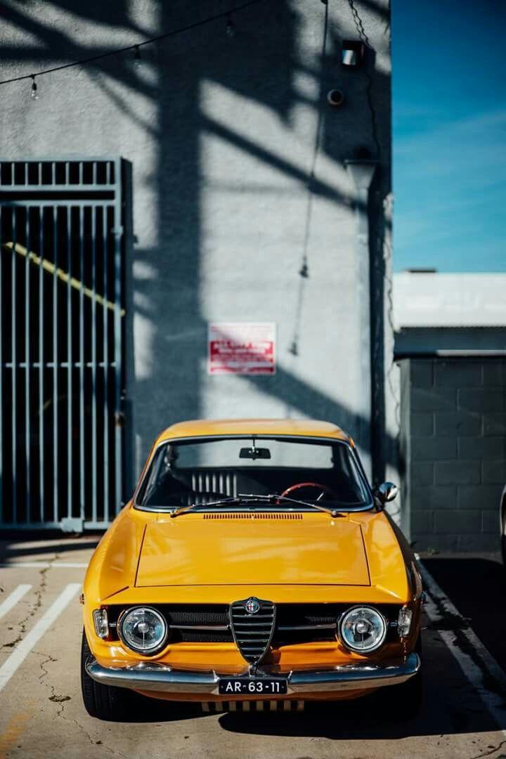 Giallo Ocra Mustangclassiccars Classic Cars Alfa Romeo