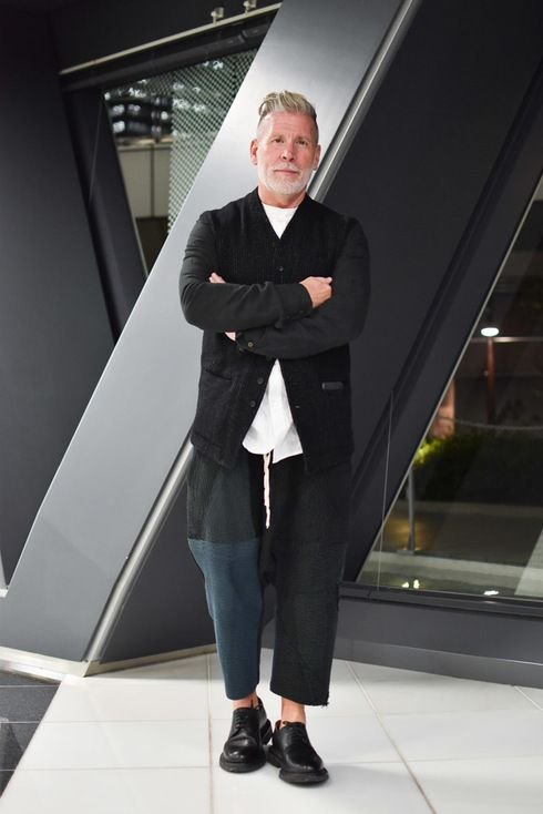 Street Style of Tokyo: Nick Wooster | Fashionsnap.com
