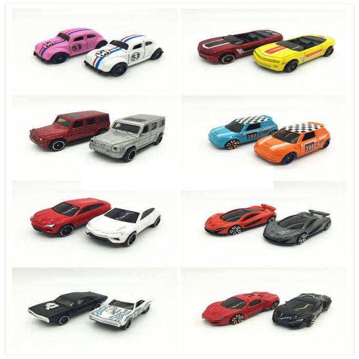 1: 64 corsa in lega modello di auto slither combinazioni di vari modelli di modelli di auto per bambini auto stile multipla toys beetle mini dodge