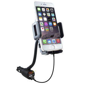 9. Soaiy 3-In-1 Car Mount Phone Holder