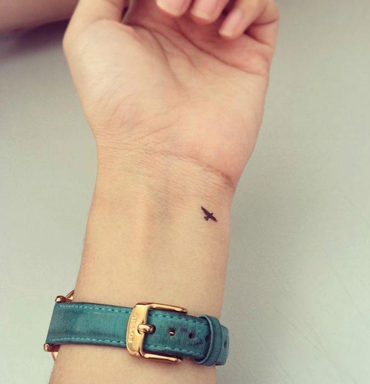 wrist tattoos, bird tattoos, minimal tattoos, small tattoos, elegant tattoos    …