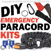 ►► DIY EMERGENCY PARACORD BRACELET KITS ►► Jewelry Secrets