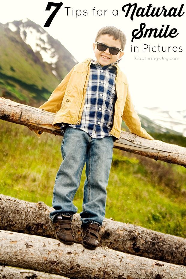 Great tips for taking pictures of kids and how to get that perfect smile!  Capturing-Joy.com