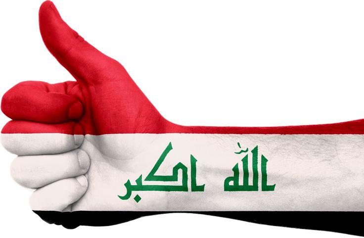 Iraq Flag Hand Symbol National transparent image