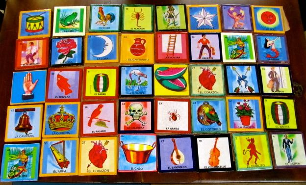 Loteria Talavera Tiles 4x4 Available At Barrio Antiguo