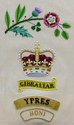 'Both Sides Alike' Regimental Colours Sampler