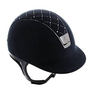 Samshield Lozenge Swarovski Dressage Deluxe Helmet, for when you just need a bit of added bling