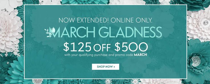 Neiman Marcus: $125 Off Orders Over $500 with Code MARCH