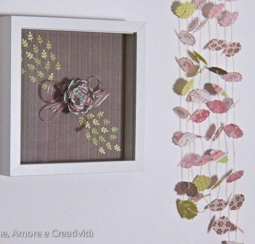 Decorazioni romantiche per la mia craft room