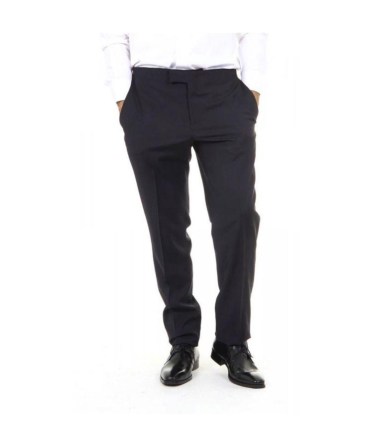 Mens trousers ARMANI COLLEZIONI 3086 Nero - titalola.com