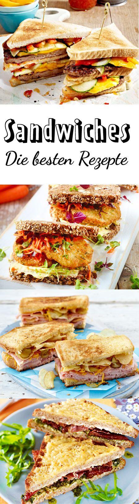Sandwich-Rezepte – belegte Brote deluxe!