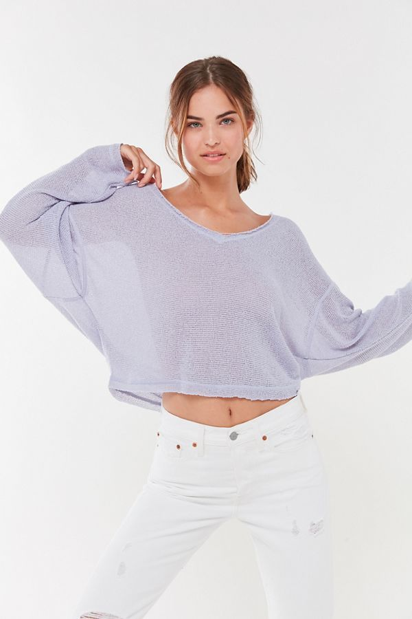 8a87023063bf Out From Under Logan Jersey Slouchy Sweater | New Arrivals