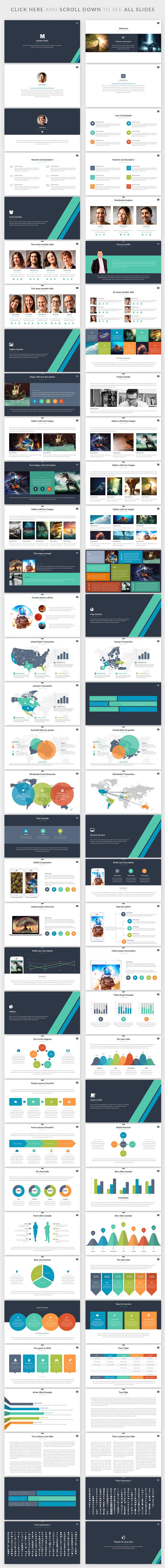 Master Pitch | Powerpoint Template by Zacomic Studios on @creativemarket