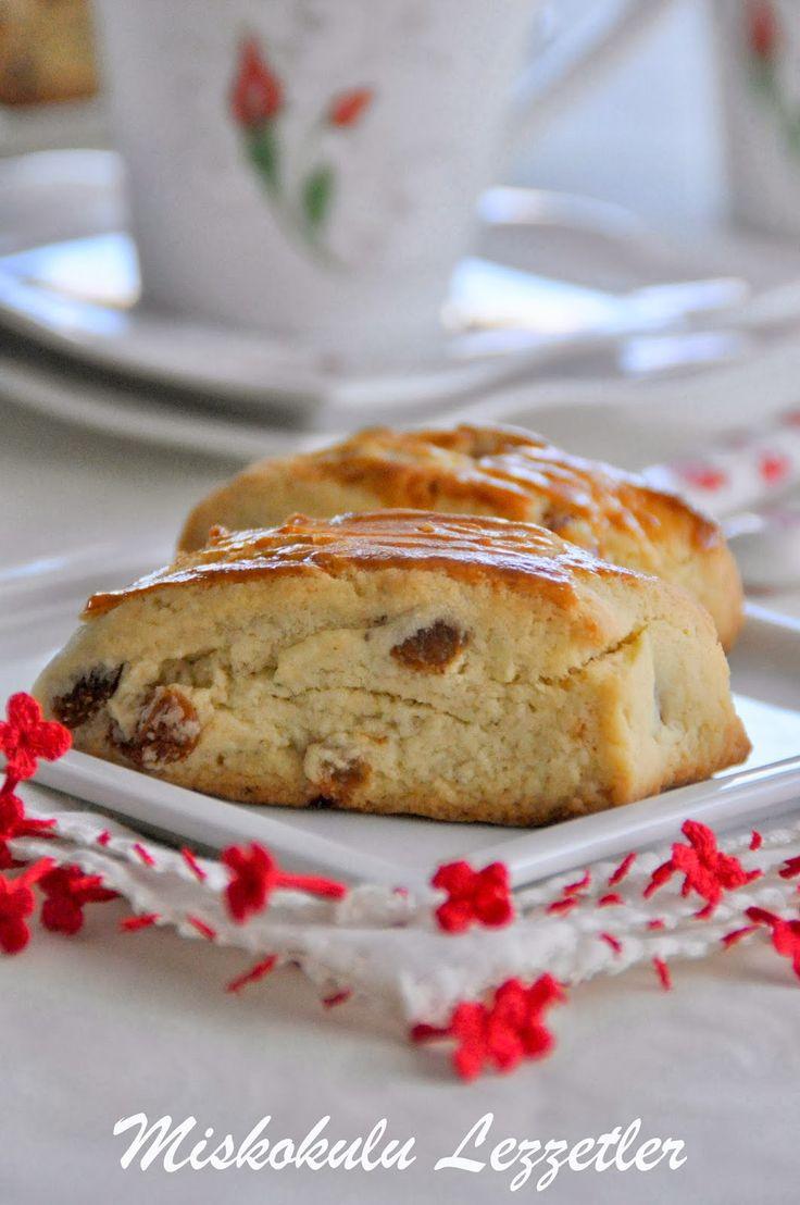 miskokulu lezzetler: Üzümlü Pastane Kurabiyesi