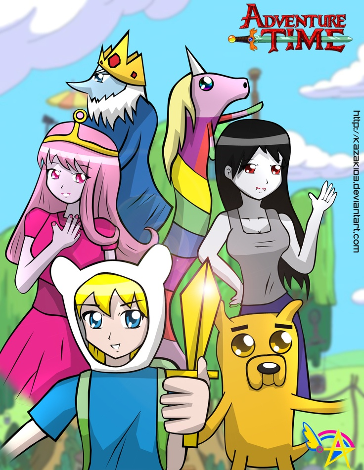 Adventure Time Anime Version Characters | www.imgkid.com ...