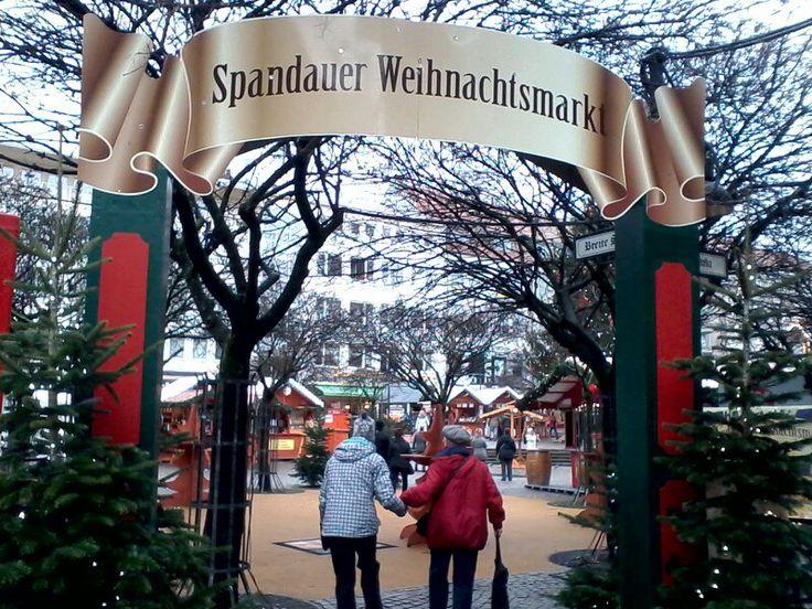 Weihnachtsmarkt in Berlin-Spandau (X-mas-market)