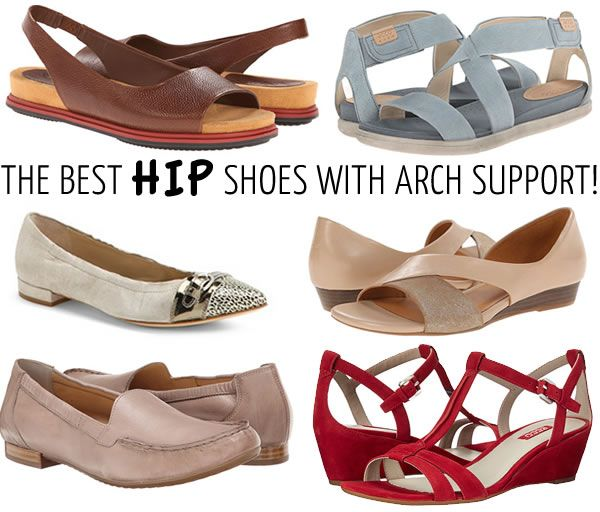 best arch support shoes for 40 s