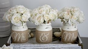 Rustic Wedding Table Decor,Rustic Bridal & Engagement Gift - Love Live & Create-Furniture, Home & Wedding Decor
