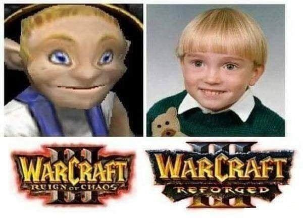 Warcraft 3 Reforged Gamer Gaming Pcgamer Warcraft