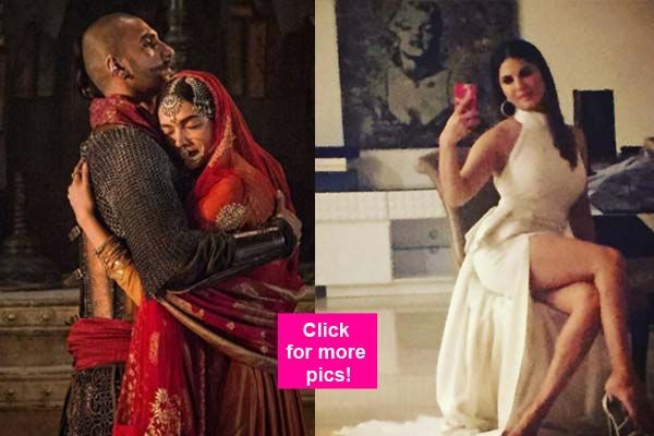 Blazing Bajirao Ranveer Singh with his Mastani Deepika Padukone sultry Sunny Leone and the vivacious Sonakshi Sinha  5 best insta pics this week!