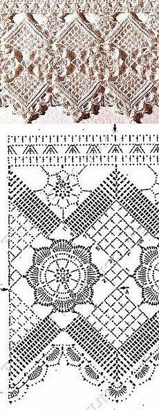 motywy szydełkowe: kwadraty, kolka, kwiatki, koronki, gwiazdki, wzory motywów szydełkowych, crochet motives patterns, wykończenia koronkowe szydełkiem