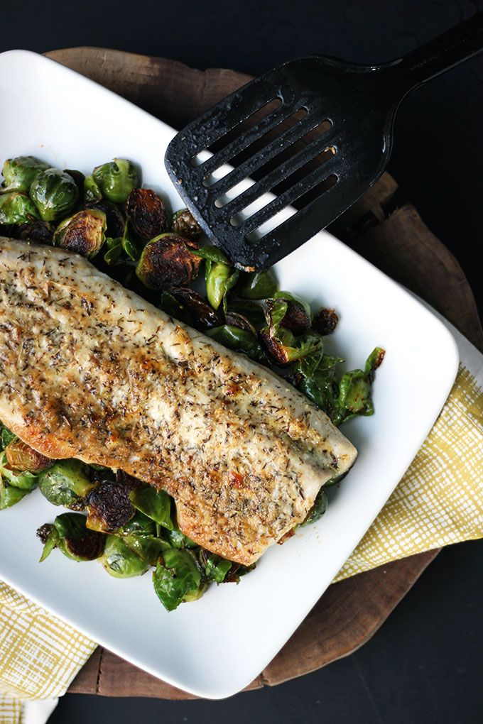 This flavorful Parmesan-crusted fish recipe is under 200 calories, and can be ready in less than 20 minutes!