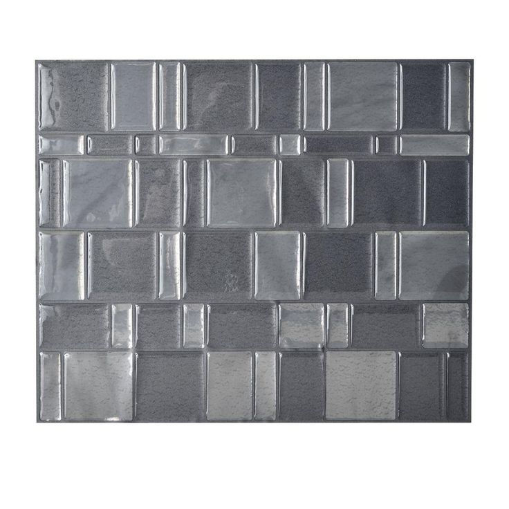 Smart Tiles In X In Peel And Stick Mosaic