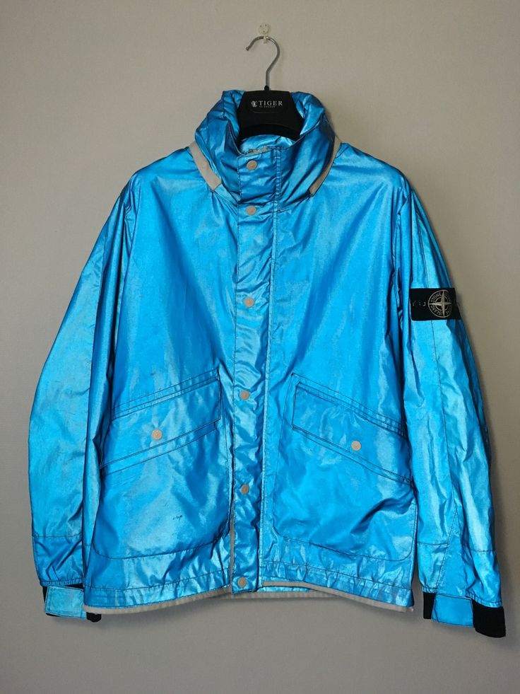 Stone Island White Label reflective jacket Size US L / EU 52-54 / 3 - 3