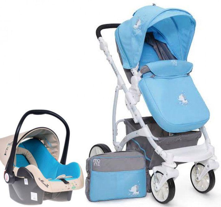 Carucior copii 3 in 1 Tala Blue