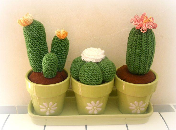Amigurumi Cactus Crochet Pattern : 352 best crochet & knitt cactus images on pinterest amigurumi