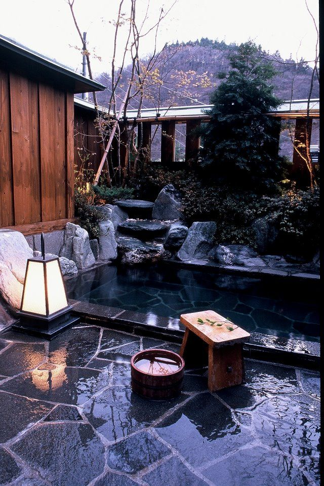 17 best images about onsen on pinterest japanese bath - Ryokan tokyo with private bathroom ...