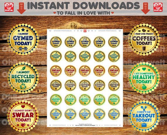 Adulting Stickers, Printable PDF / JPG | Adult Badges | Small Also Fits Circle label layouts (1.5 circles)