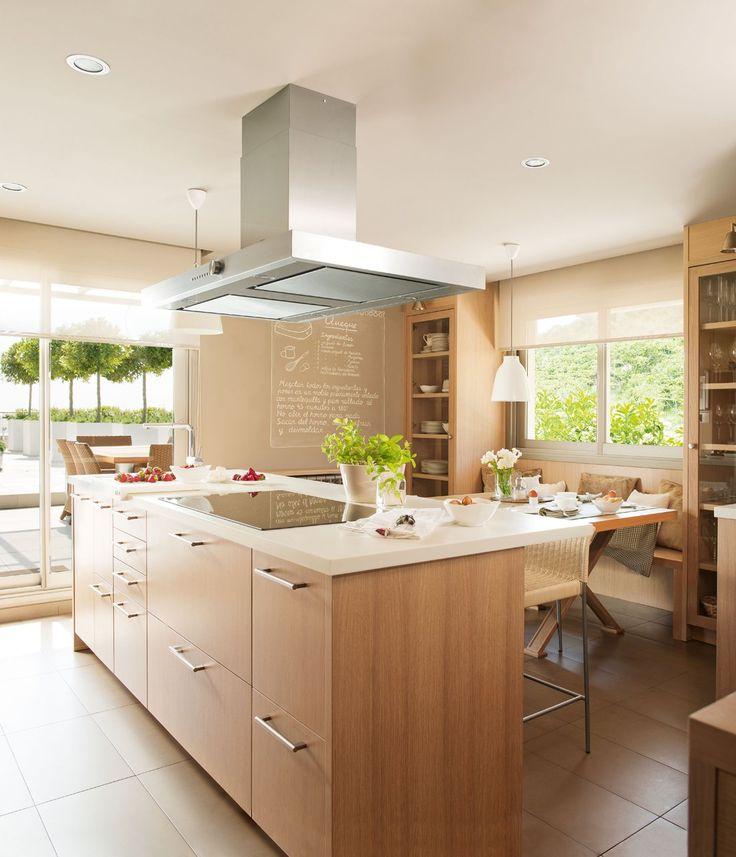 Mejores 19 imágenes de cocinas con isla en Pinterest   Ideas para la ...