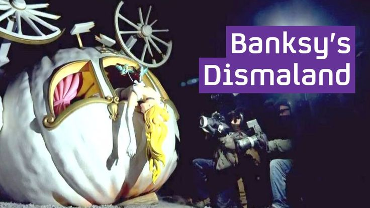 Channel 4 News Takes a Tour Inside Banksy's 'Dismaland' Bemusement Park Art Installation