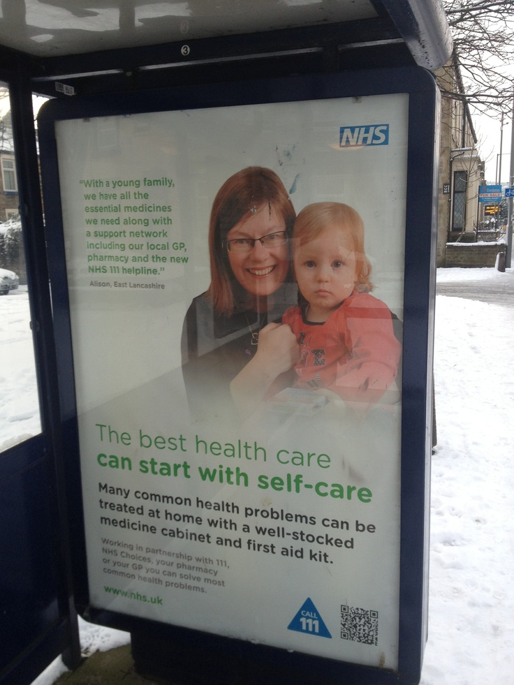 Self care campaign - look after yourself. Empowering residents to take control over their own health.