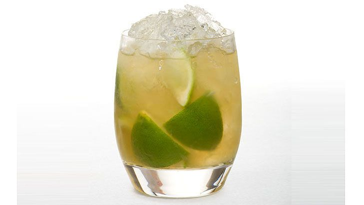 Caipirinha - For those finalising plans for the World Cup celebration in Rio, it's important to also get familiar with the Brazilian cocktail of choice. Caipirinha is a mouthful to ask for (pronounced Kai-Pee-Reen-Ya) and is packed full of limes, syrup and a rocket fuel of a rum known as Cachaça. An addictive and killer-strong summer-time drink, so beware.