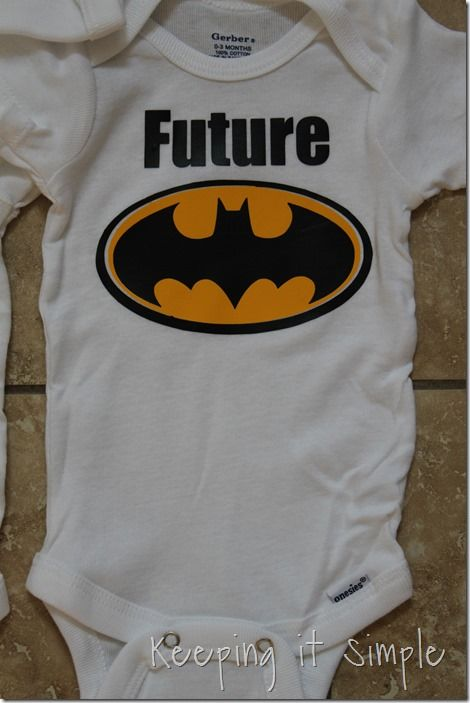 8831d3409 Easy Baby Gift Idea- DIY Baby Onesies | Ideas for iron ons | Onesies, Baby,  Baby gifts
