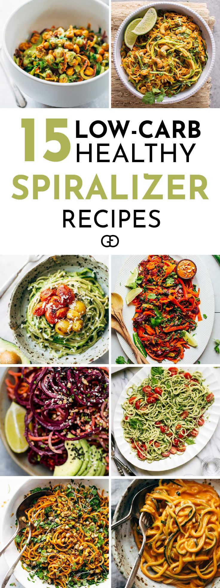 Quick and easy low-carb spiralizer recipes you need to try. Plus all the tricks and tips you need to know to spiralize zucchini and any other vegetables, and how to store them to keep them fresh for longer! Genius!
