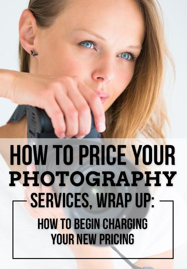 I hope that everyone who took advantage of our 3-Part Photography Service Pricing Series found the worksheets useful. Keep in mind that these are only a guideline to help you determine the minimum ...