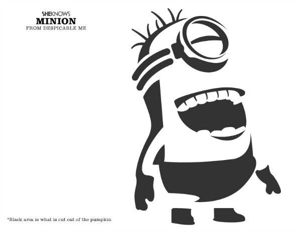 1000 Ideen Zu Minion Pumpkin Stencil Auf Pinterest