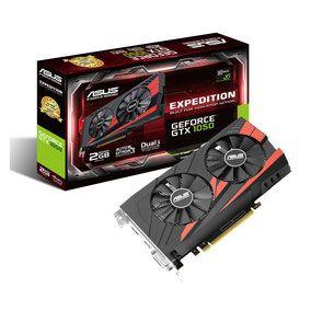 ASUS GeForce GTX 1050 EX-GTX1050-2G disponible ici.  Entièrement compatibles DirectX 12 et intégrant les dernières innovations technologiques de la marque au caméléon, la GTX 1050 délivre d'excellentes performances tout en bénéficiant d'un rendement énergétique optimisé grâce à une consommation maitrisée.