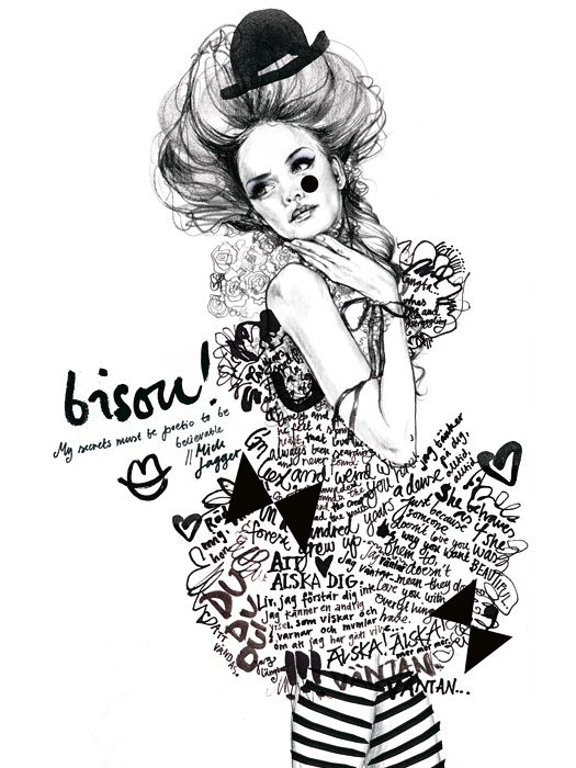 'Bisou!' by Lina Ekstrand