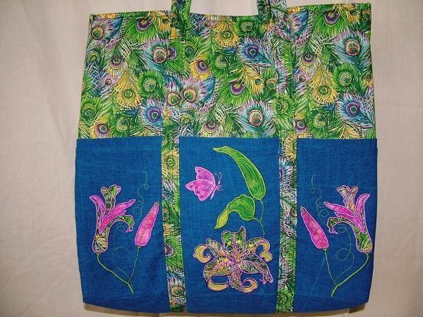 Exotic Flowers - Enchanting Designs   OregonPatchWorks