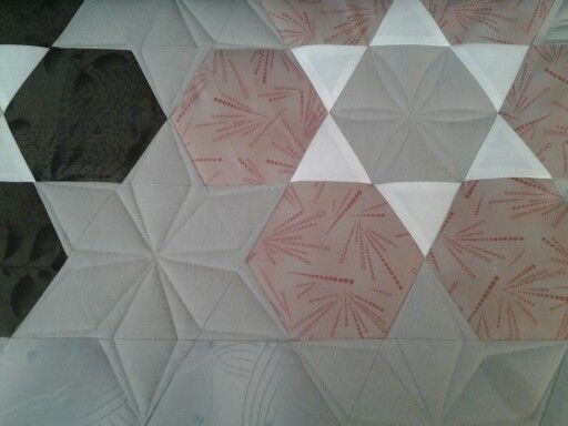 Some easy custom quilting on this.