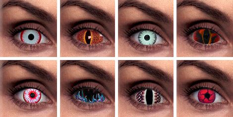 freaky contact lenses | hope no one wears any of these on a regular basis