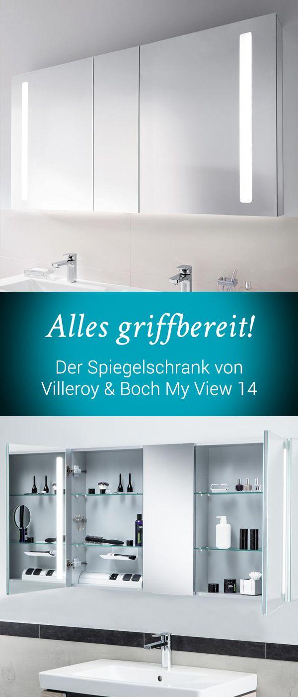 Villeroy Boch My View 14 Dimmen Sie Die Integrierten Leds In 3